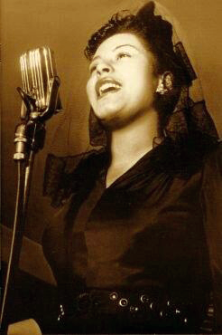 Billie Holiday with Amperite RSH