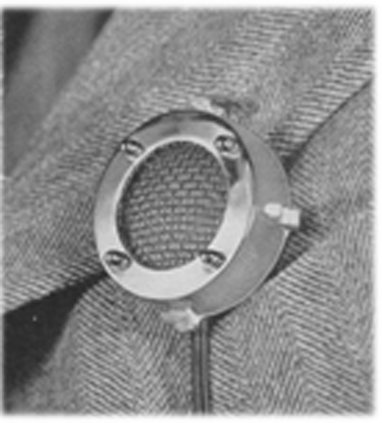 Philips button hole mic