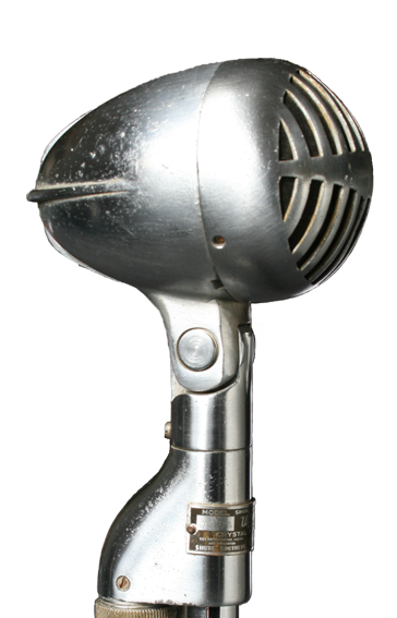 Shure 705 A vintage crystal mic