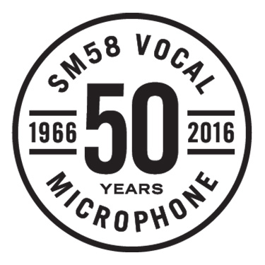 Shure 50th anniverasry